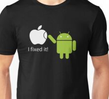 I Fixed It! Robot Phone Mobile  Unisex T-Shirt