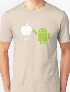 I Fixed It! Robot Phone Mobile  Unisex T-Shirt
