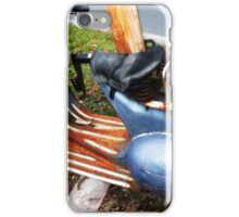 Motor Scooter Blues  iPhone Case/Skin