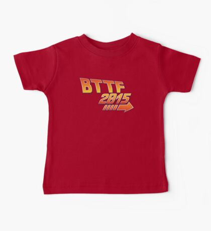 Back to the future 2015 Logo Baby Tee