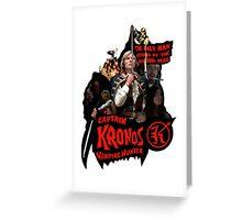Captain Kronos: Vampire Hunter Greeting Card