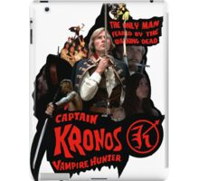 Captain Kronos: Vampire Hunter iPad Case/Skin