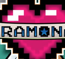 Heart Crest - Ramona Sticker