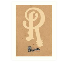 2012 railroad revivalist Art Print