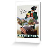 Vintage poster - Steiermark Greeting Card