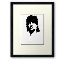 one man army Framed Print