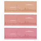 Toronto Skyline by Angela Haddon
