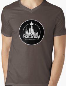 The Time Kingdom Mens V-Neck T-Shirt