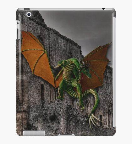 Dragon & Castle Fantasy Artwork iPad Case/Skin