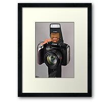 ✾◕‿◕✾ MY CAMERA AND I~ IT KINDA WEARS ON U ✾◕‿◕✾ Framed Print
