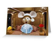 *•.¸♥♥¸.•*MY FAVORITE CHILDHOOD MOUSE TOPO GIGIO PICTURE,PILLOW AND OR TOTE BAG *•.¸♥♥¸.•* Greeting Card
