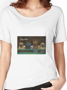 pug crawl... Women's Relaxed Fit T-Shirt