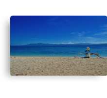 Canigao Beach Canvas Print