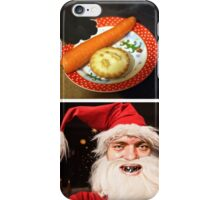 Jaws Santa iPhone Case/Skin