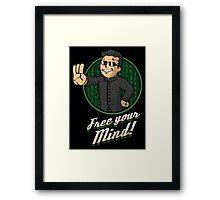 Free Your Mind Framed Print