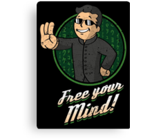 Free Your Mind Canvas Print