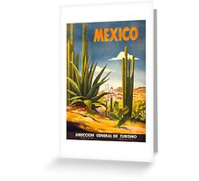 Vintage poster - Mexico Greeting Card