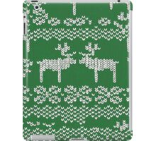 green christmas jumper iPad Case/Skin