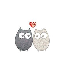 Owl Love by EF Fandom Design