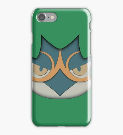 Decidueye face iPhone Case/Skin