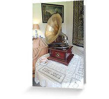 Sounds of History Greeting Card