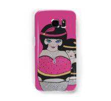 Pink, Black & White! Samsung Galaxy Case/Skin
