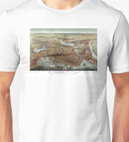 The City of Boston - 1873 Unisex T-Shirt