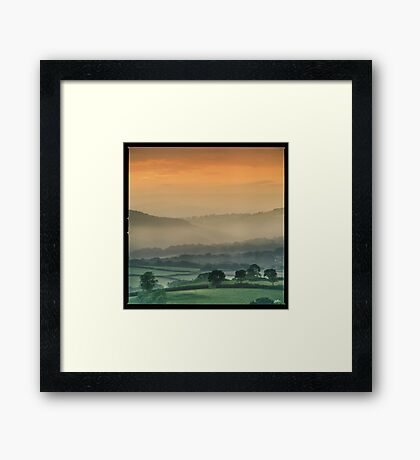 Up with the larks Framed Print