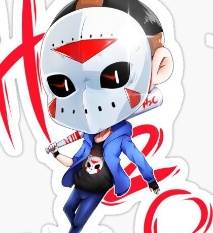 Chibi H2o Delirious Sticker