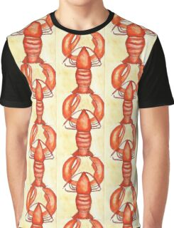 Lobster Starts With L Graphic T-Shirt
