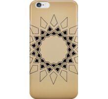 Mandala #211 || Tan iPhone Case/Skin