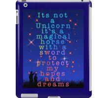 It's not just a unicorn iPad Case/Skin