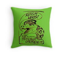 Autism Loves Podcast: Love that Logo! Throw Pillow