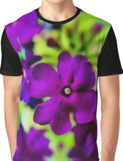 Psychedelic Purple  Graphic T-Shirt