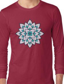 A Floral Burst Long Sleeve T-Shirt