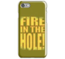 Junkrat - Fire in the HOLE! iPhone Case/Skin
