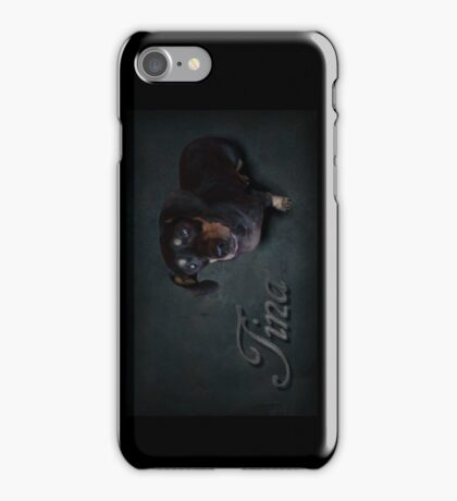 Dachshunds Tina iPhone Case/Skin