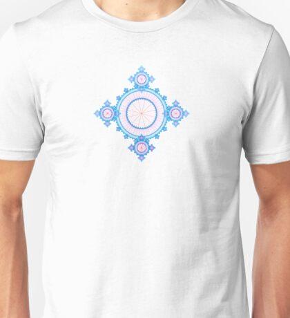 Winter Fractal Unisex T-Shirt