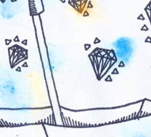 Diamonds in the Sky Sticker