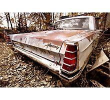 Abandoned 1966 Mercury Monterey Photographic Print