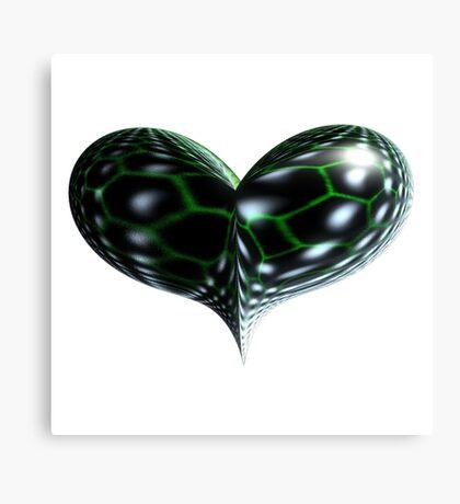 Reptile Heart Canvas Print