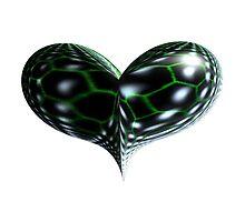 Reptile Heart Photographic Print