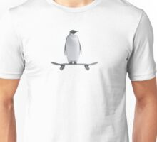 Penguin Skateboard Unisex T-Shirt