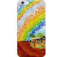 Rainshine over Morawa : Panel I iPhone Case/Skin