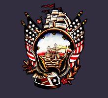 American Navy Ship Eagle Tattoo design T-Shirt