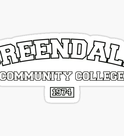 Greendale Community College Sticker