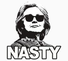 Hillary Clinton Nasty Woman One Piece - Short Sleeve