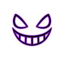 Smile c: 2 (Dark) Photographic Print