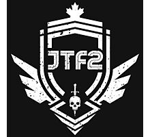JTF2 - White/ Gritty Photographic Print