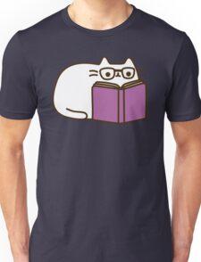 Cute Kawaii Nerd Cat Unisex T-Shirt